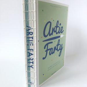 Artie Farty handboek vol kunstzinnige tips