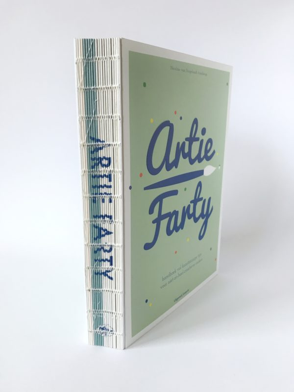 Artie Farty handboek vol kunstzinnige tips