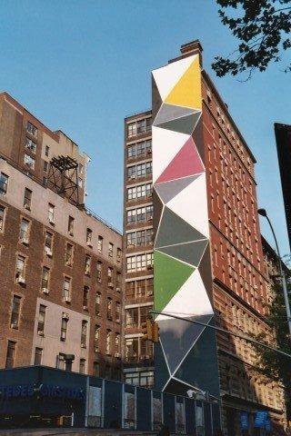 Muurschildering van Tania hoek Mercer Street New York
