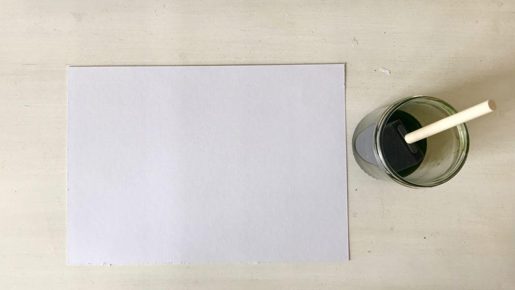 Zonneprint papier prepareren