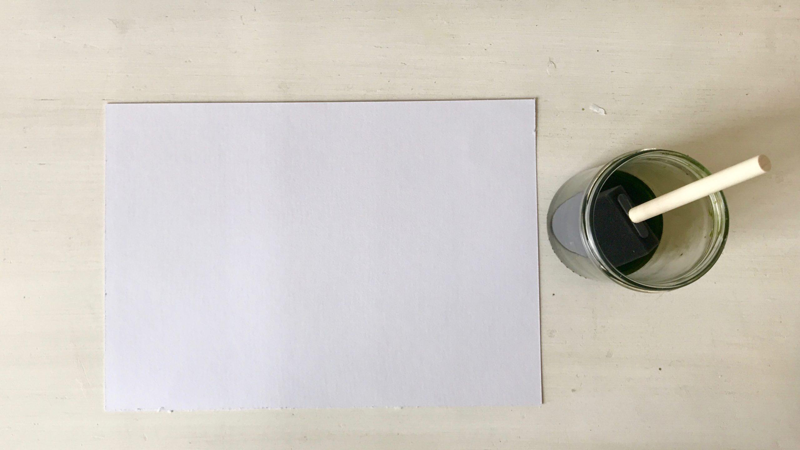Zonneprint lichtgevoelig papier prepareren