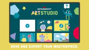 Creatieve apps Digitalwerkstatt