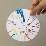 Spin art slacentrifuge