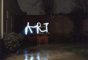 Light painting ART