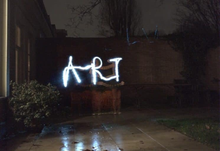 Light painting ART