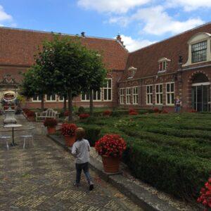 Frans Hals Museum tuin