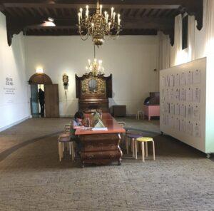 Overzicht hubs Frans Hals Museum Haarlem