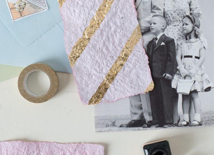 Papier scheppen DIY recept uit Artie Farty LAB