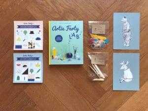 Artie Farty LAB startpakket knutselmateriaal