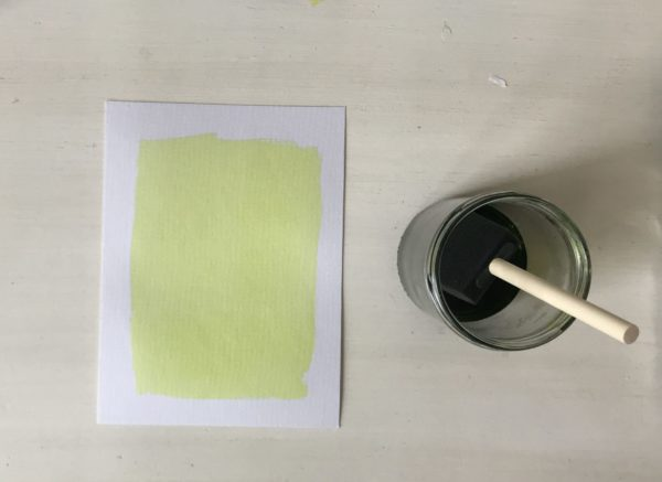 Lichtgevoelig papier voor een zonneprint