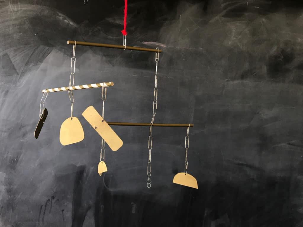 STEAM project kinetische kunst mobile van Calder