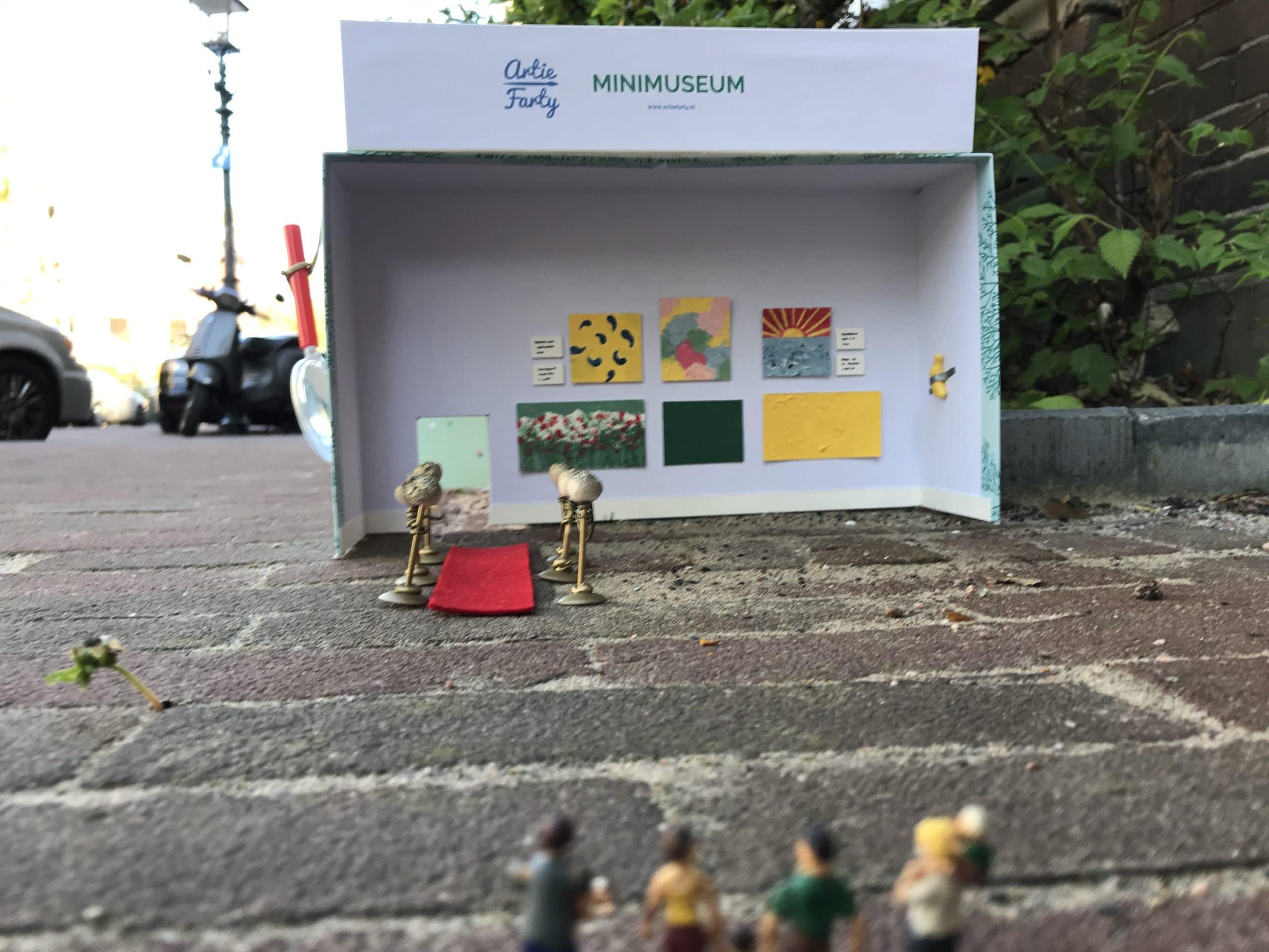 Minimuseum publiek