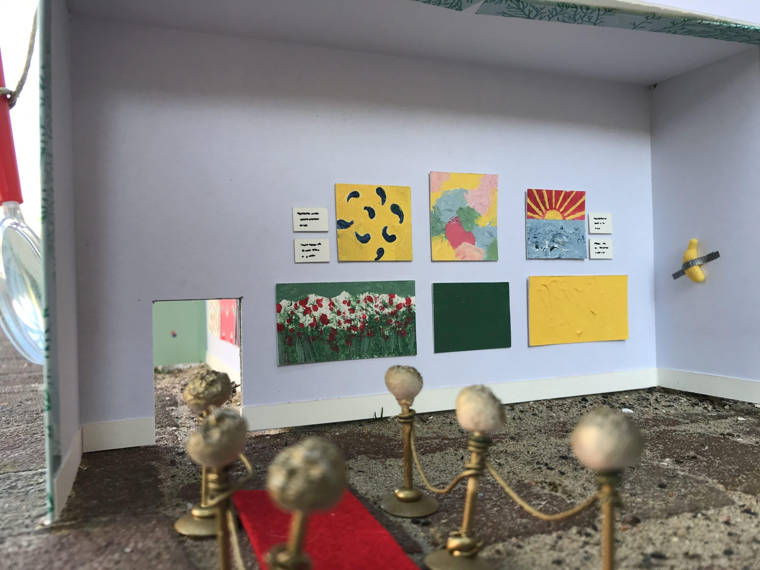 Minimuseum rode loper