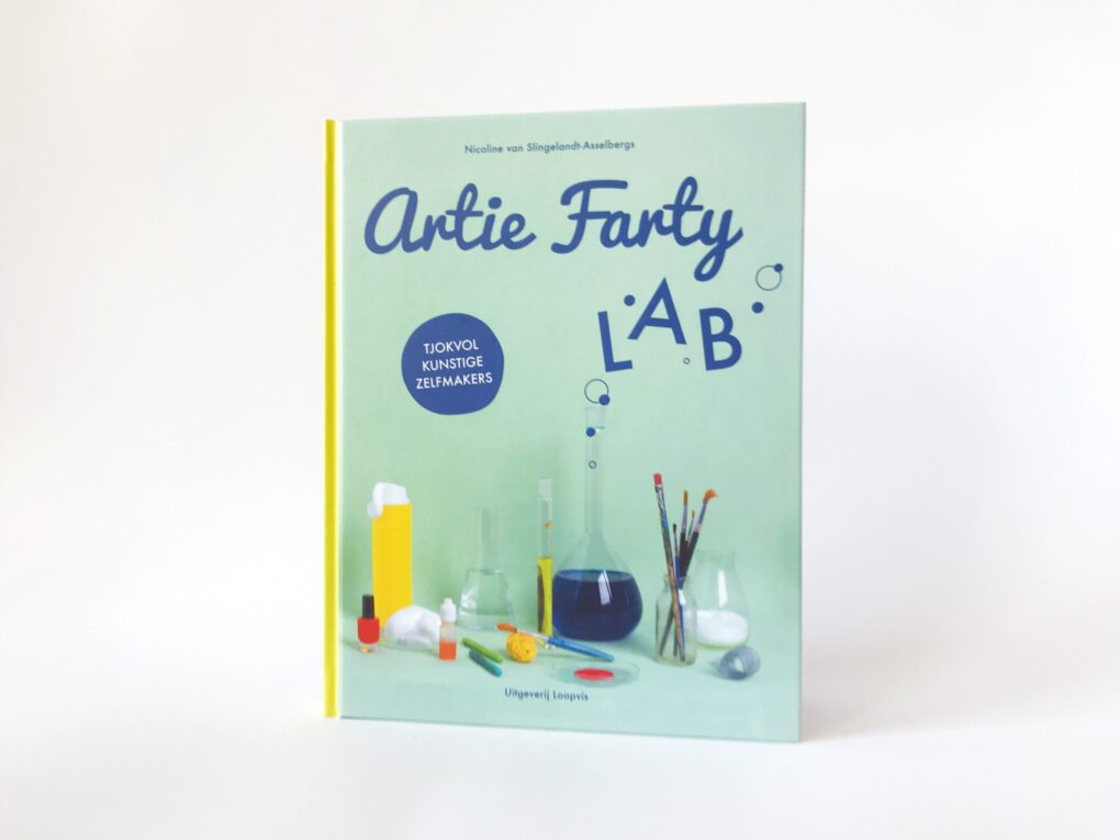 Artie Farty LAB knutselboek