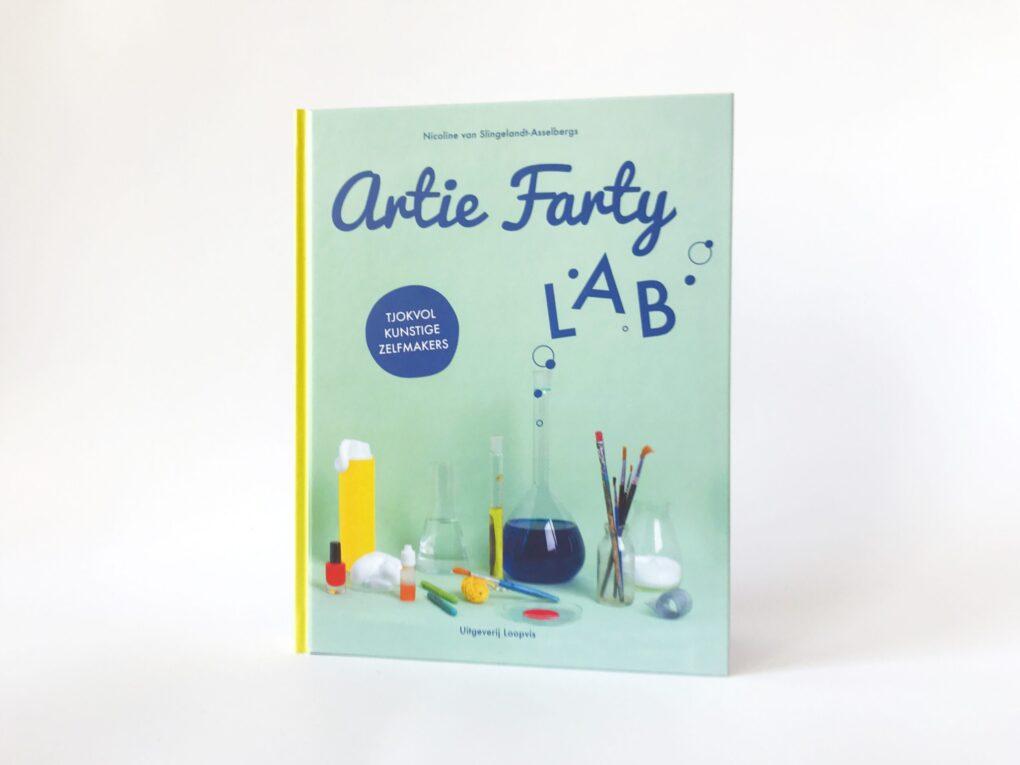 Artie Farty LAB knutselboek