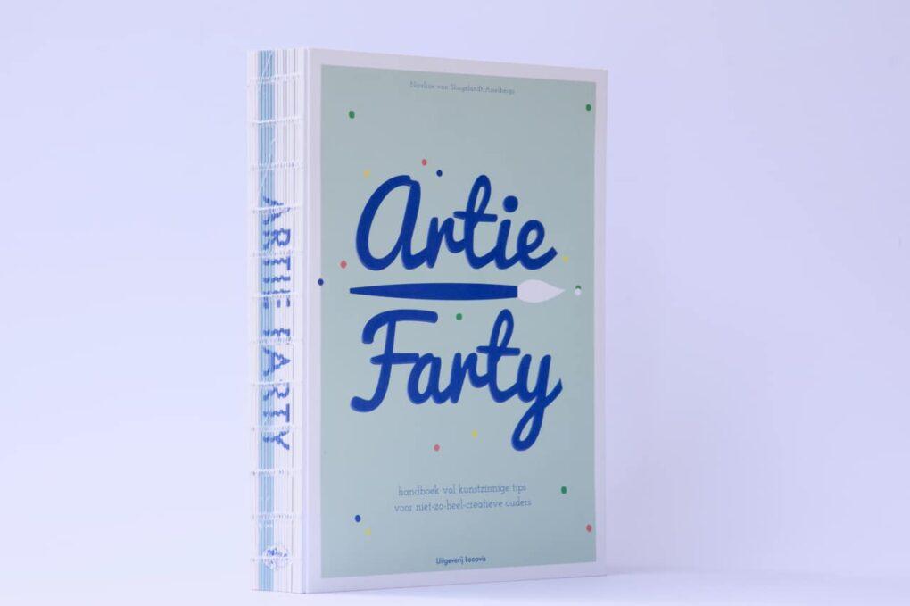 Artie Farty handboek kunstzinnige tips
