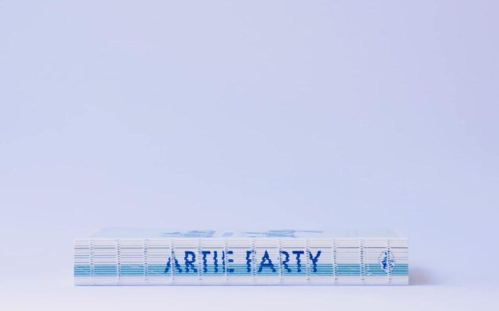 Artie Farty mooi gebonden kunstboek voor kinderen