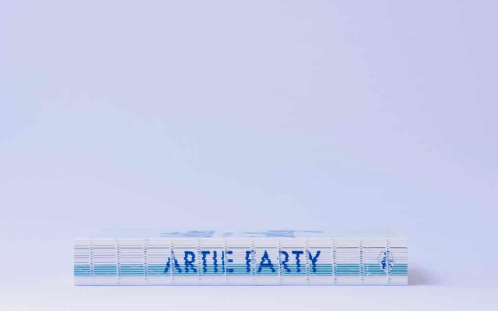 Artie Farty rug knutselboek