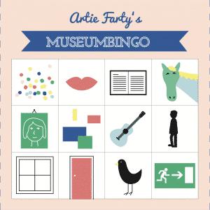 Museumbingo modern Artie Farty museumspel