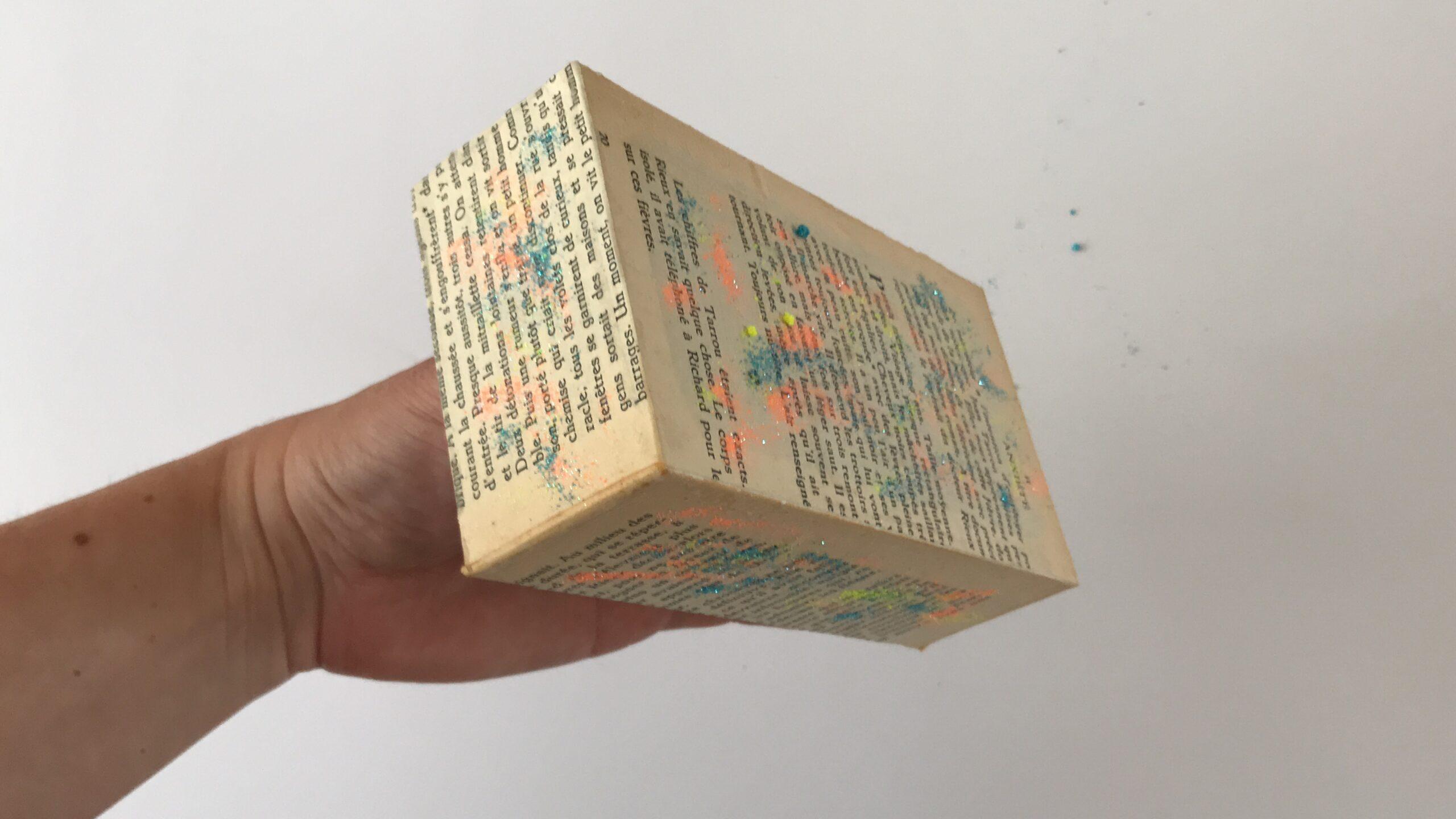 Diorama van een iPhone doosje stap 3
