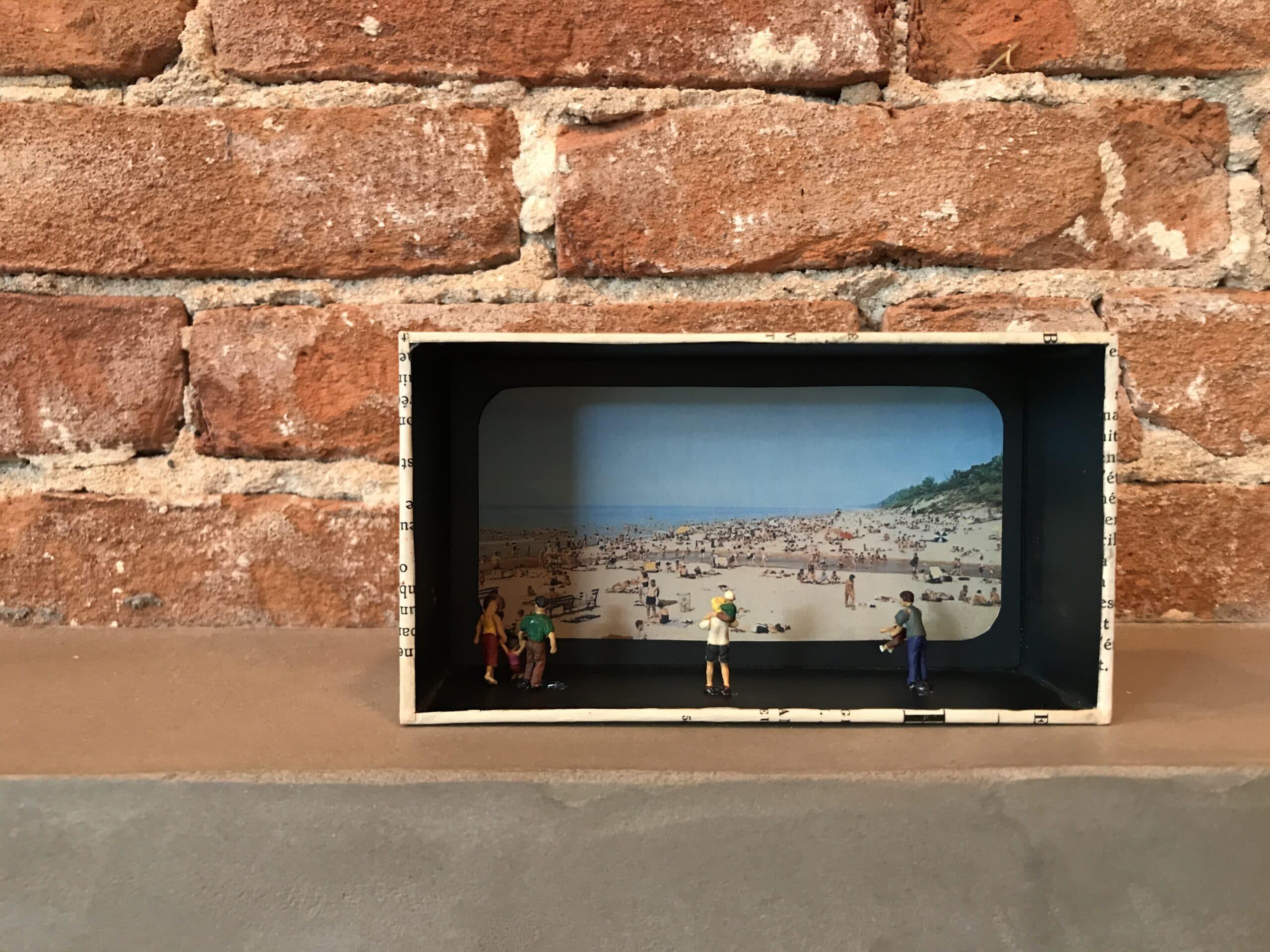 Diorama van een iPhone doosje stap 4