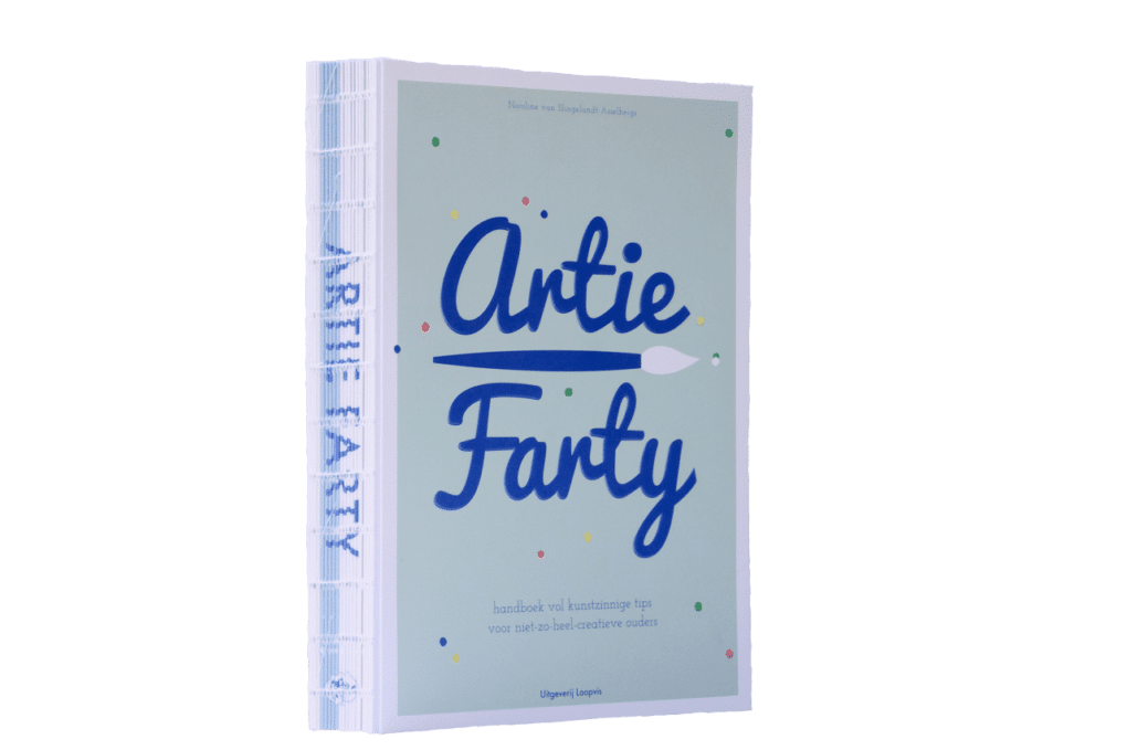 Artie Farty kunstboek creativiteit kinderen