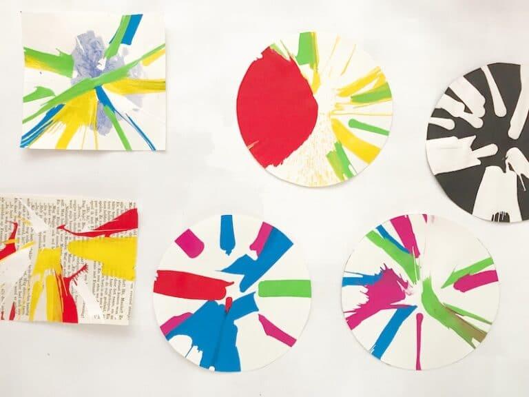 Spin_art_resultaten_verven_met_kinderen_Artie_Farty