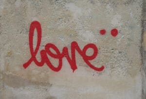 Love_graffiti_Valentijnskunst