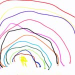 Betekenis regenboog op kindertekening_kindertekeningen analyseren_Artie Farty_Talking Drawings