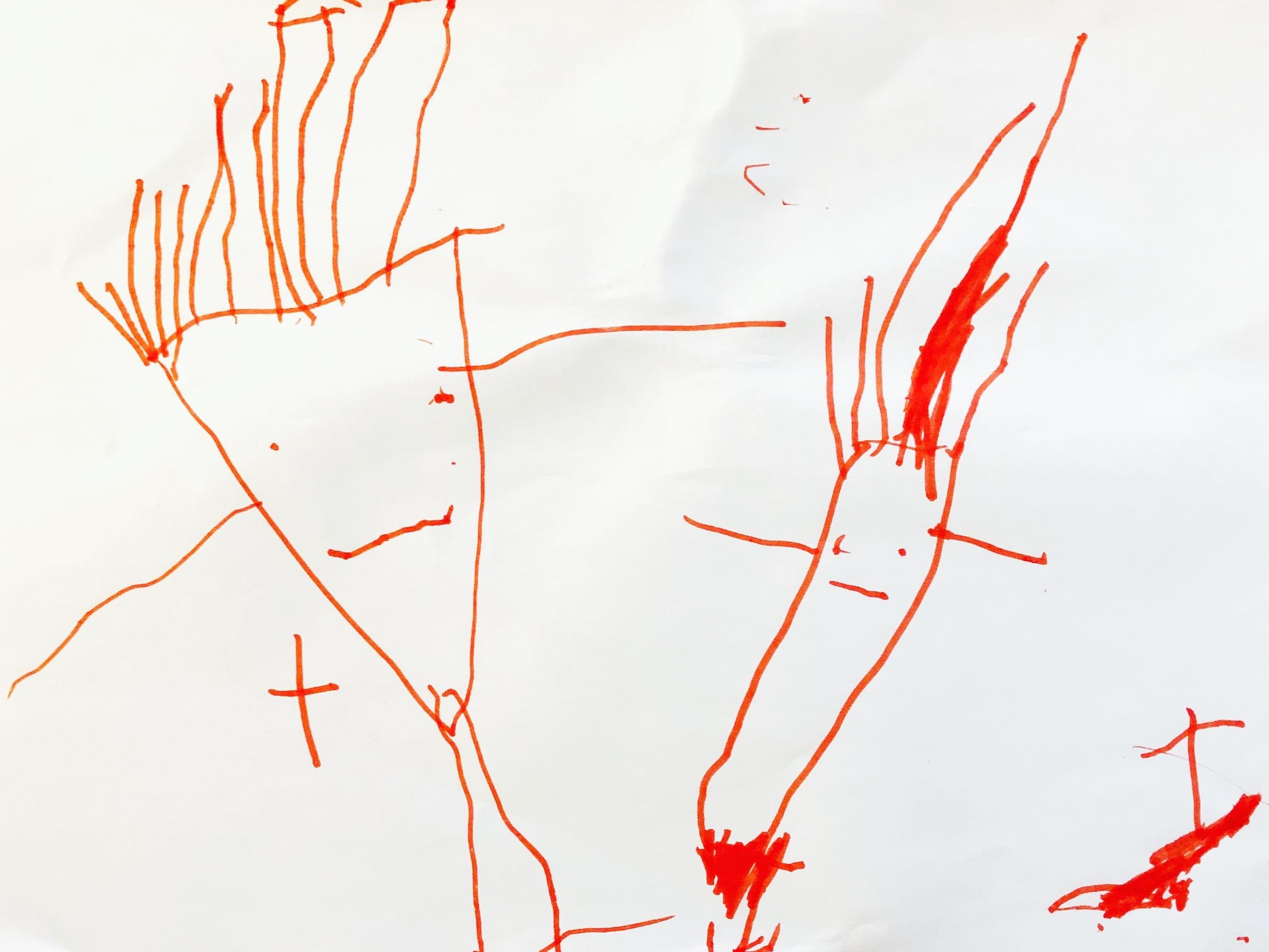 Kindertekeningen analyseren_haar_prikkels_Talking Drawings_Artie Farty