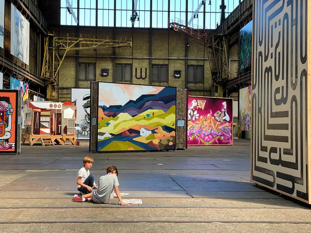 STRAAT street art graffiti museum Amsterdam Noord